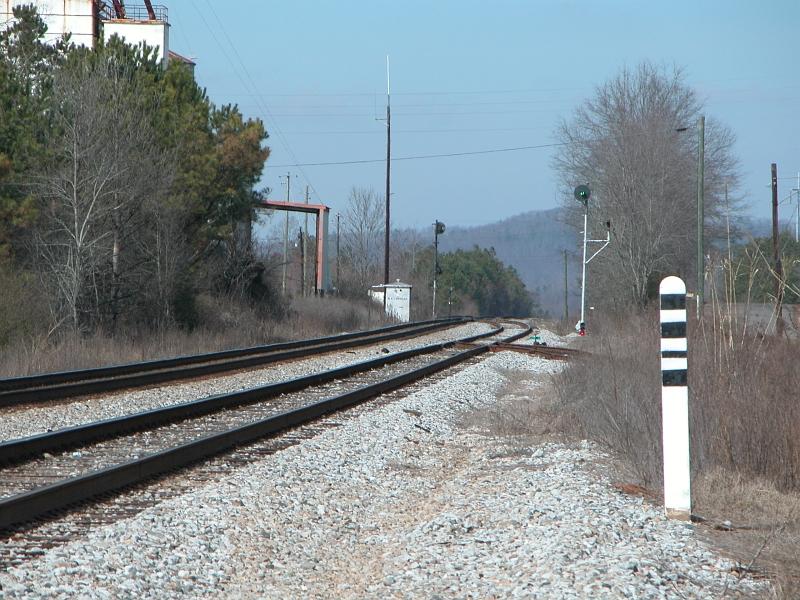 Railfan Guide Lineville Al