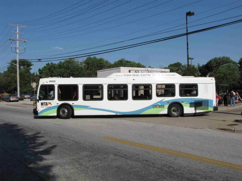 Baltimore Railfan Guide Busses
