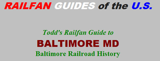 Baltimore Railroad History - RSUS
