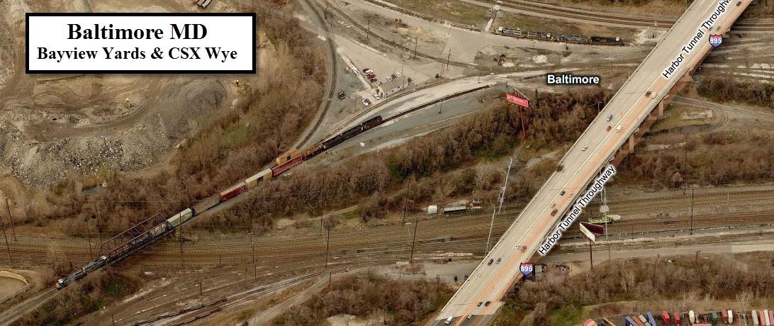 Baltimore Railfan Guide Csx Bayview Yard