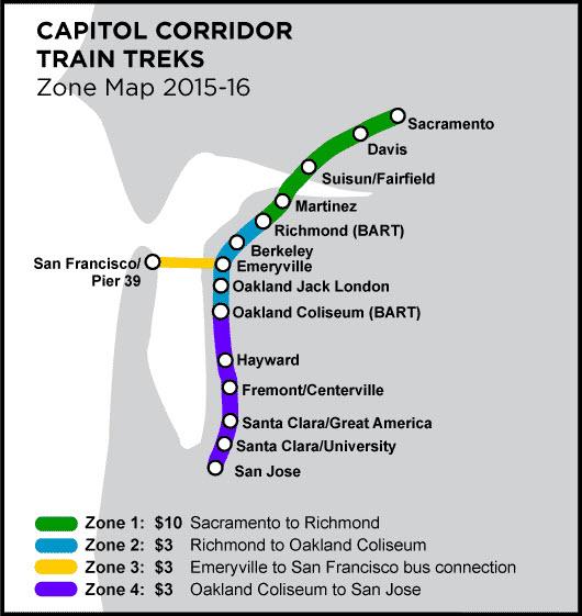 Sacramento CA Railfan Guide on