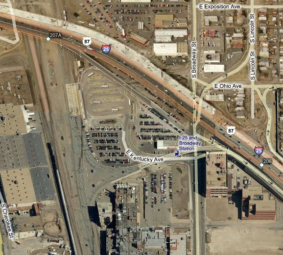 Denver CO RTD Light Rail System