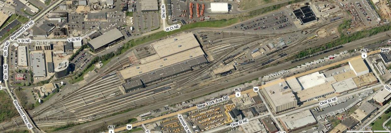 Amtrak Ivy City Facility –Washington DC