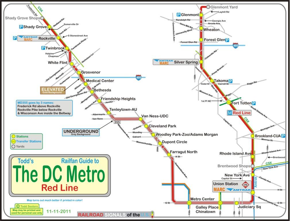 Metro red line SRT Red
