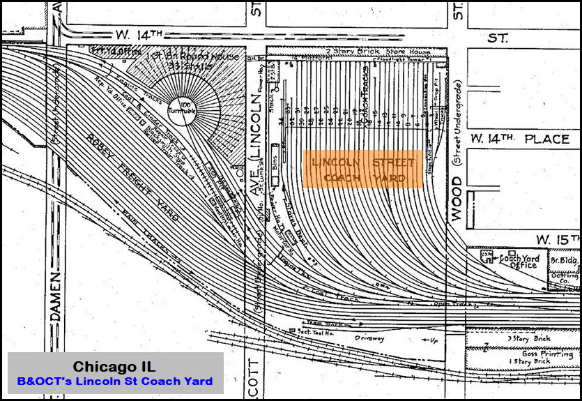 Chicago Railroad Yards