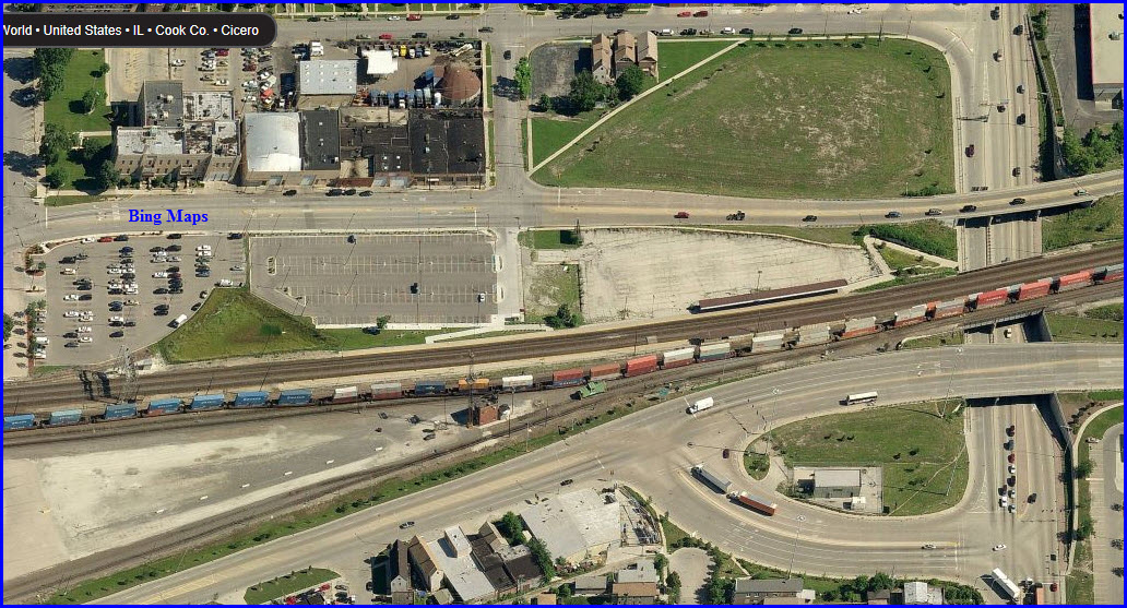 Metra BNSF Railway Line