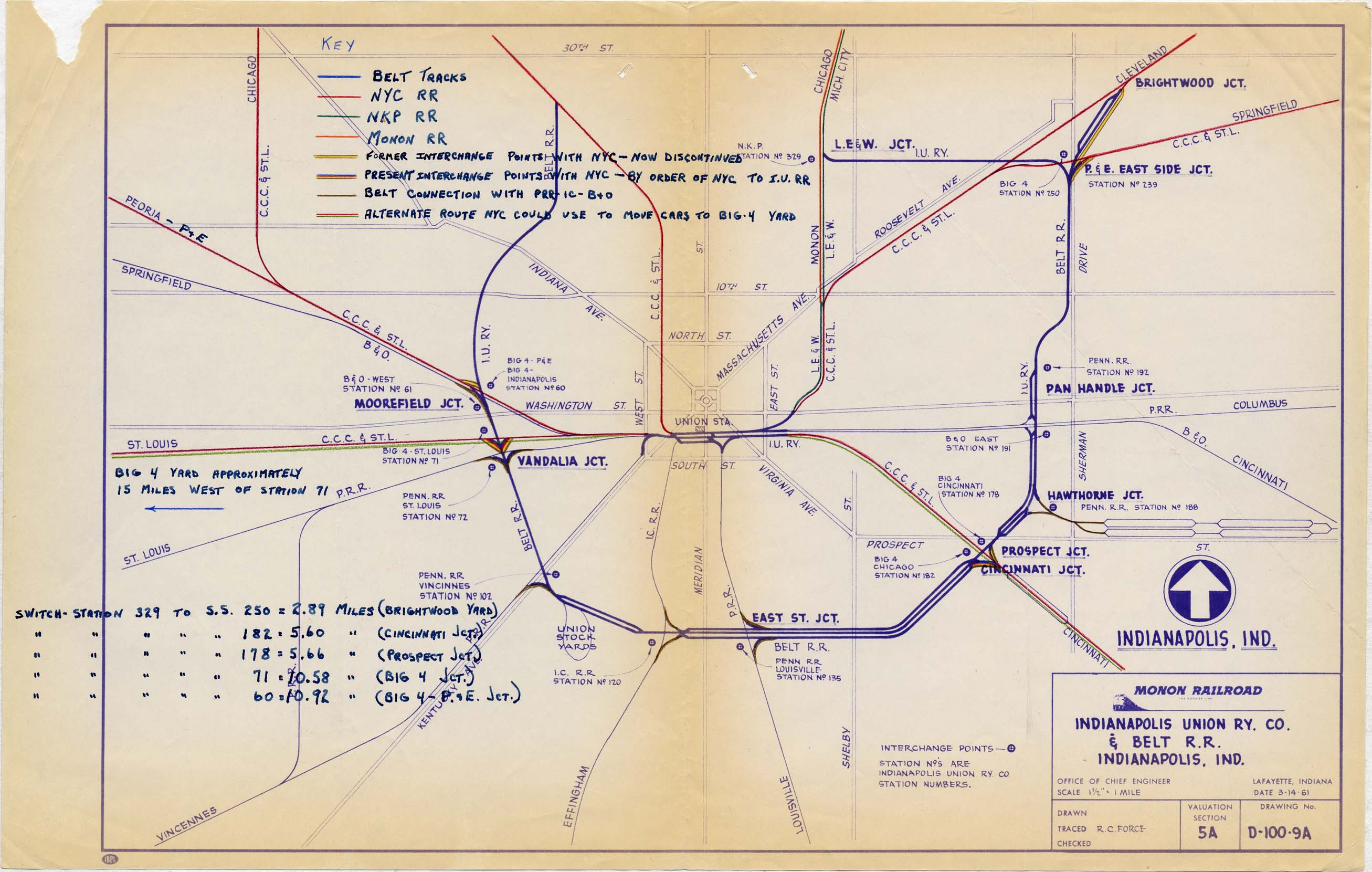 Indianapolis IN Railfan Guide - Homepage