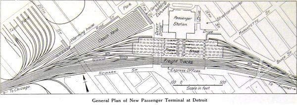 Detroit Mi Amtrak Stations