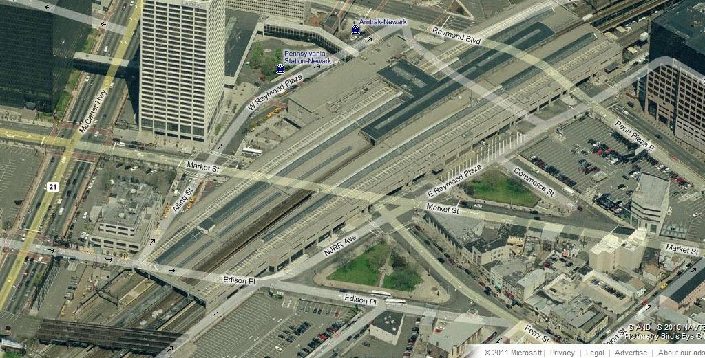 Railfan Guide To Newark Nj Rsus