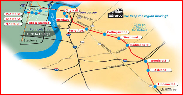 Philadelphia Subway Map Patco.Patco Heavy Rail System Railfan Guide