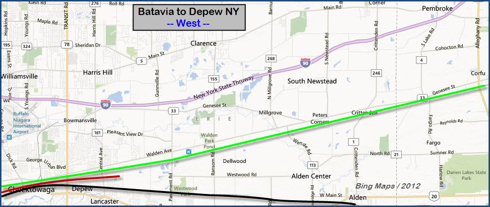 Batavia To Buffalo Ny Railfan Chase Guide