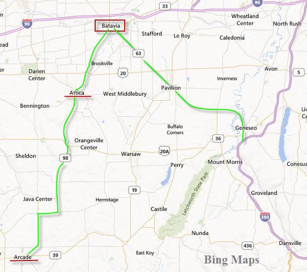 Batavia To Buffalo Ny Railfan Chase Guide