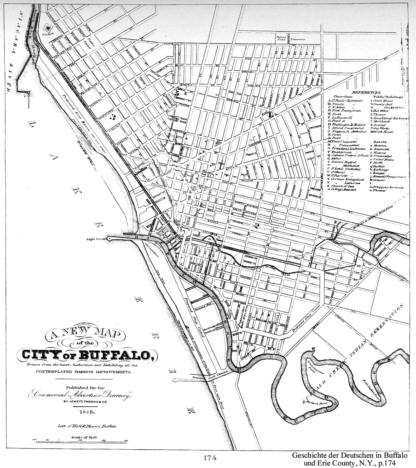 Buffalo NY Railfan Guide Downtown - Buffalo ny on us map