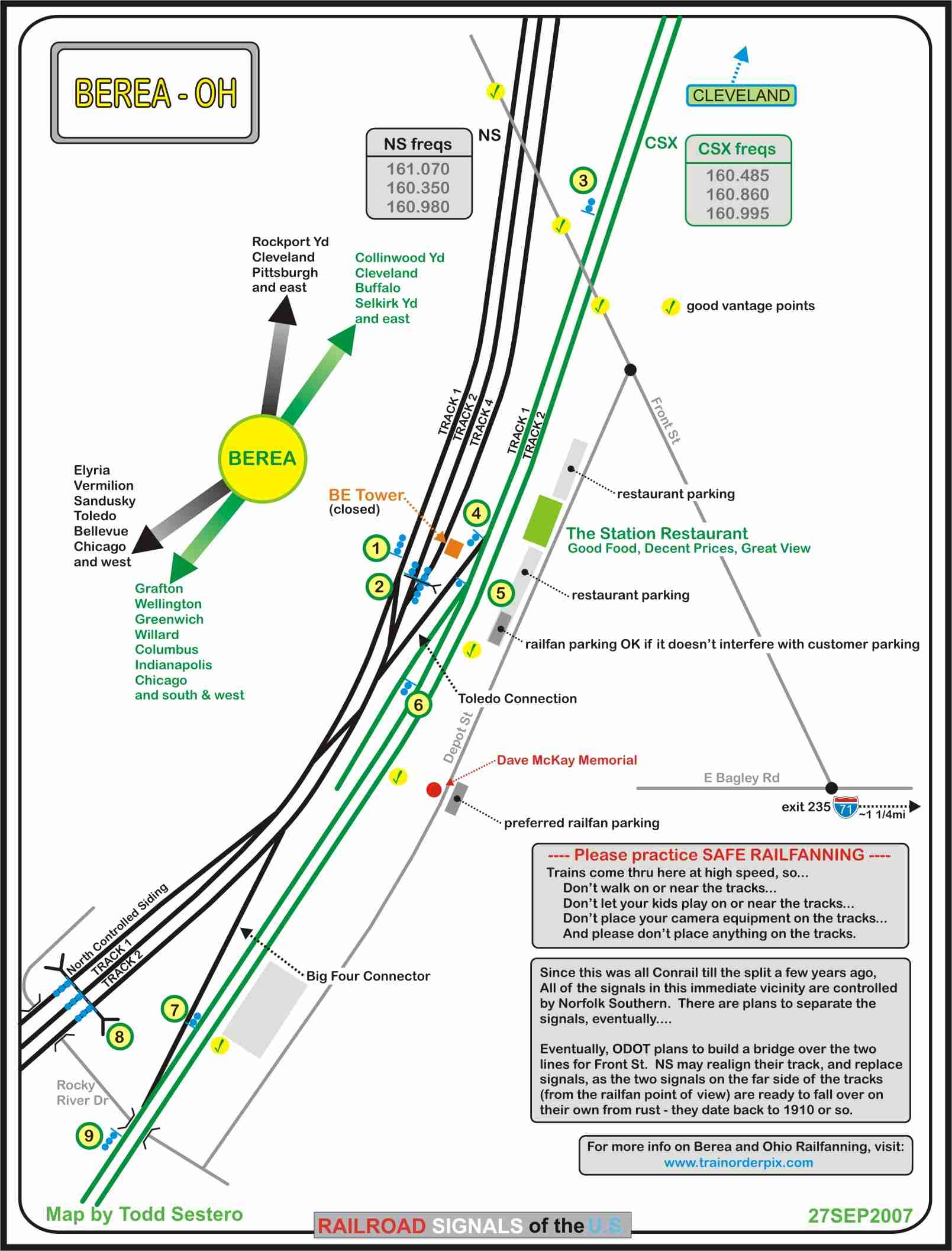 Railfan Guide To Berea Oh