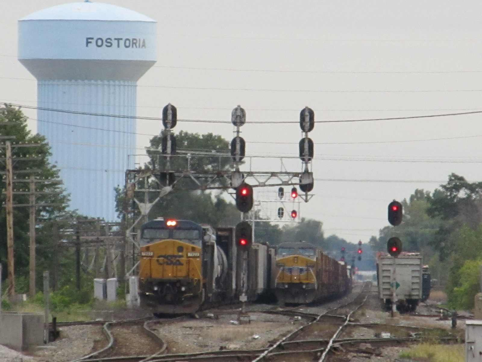 Fostoria (OH) United States  city pictures gallery : Fostoria OH Railfan Guide