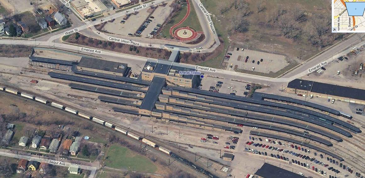 Toledo Oh Railfan Guide Toledo South