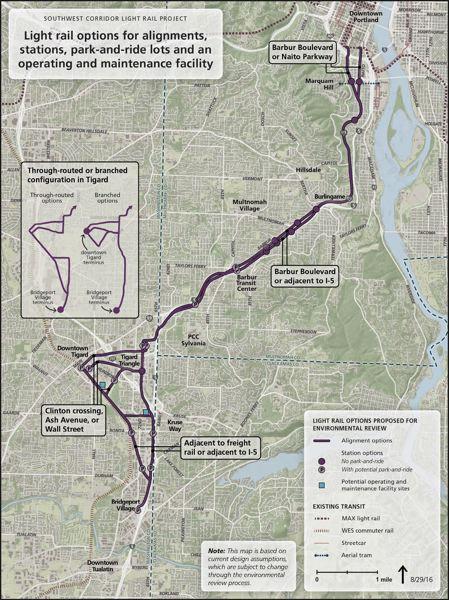 Portland OR Transit Guide - WES - the Westside Express Service