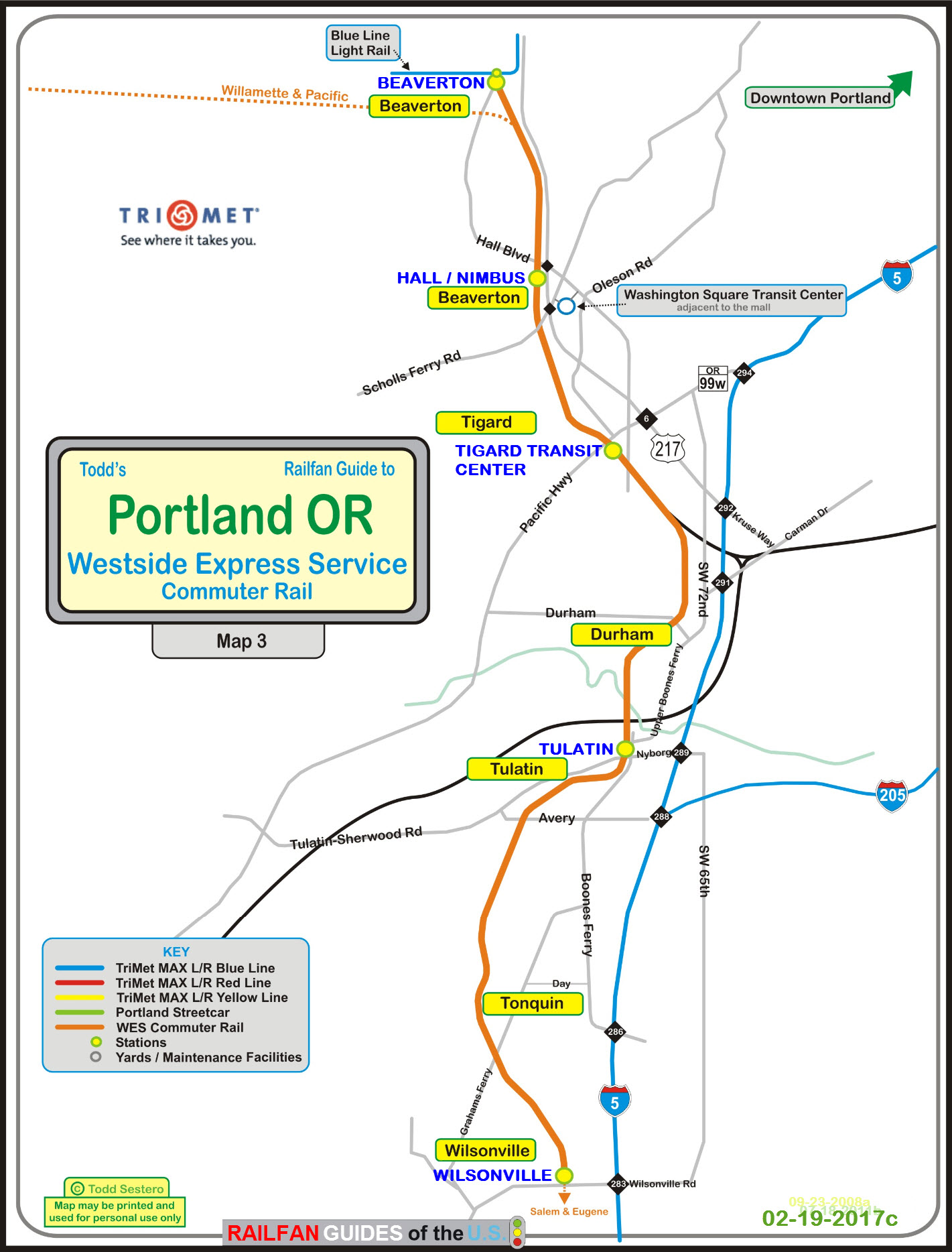 Portland OR Transit Guide - WES - the Westside Express Service on unitrans map, target map, ripta map, comcast map, transit map, bc ferries map, reed college map, nctd map, kaiser permanente map, portland streetcar map, miami train station map, transperth map, fbi map, macy's map, modot map, microsoft map, metrobus map, genentech map, translink map, skytrain map,