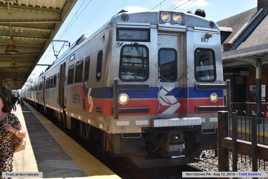 SEPTA's Norristown Transportation Center Railfan Guide