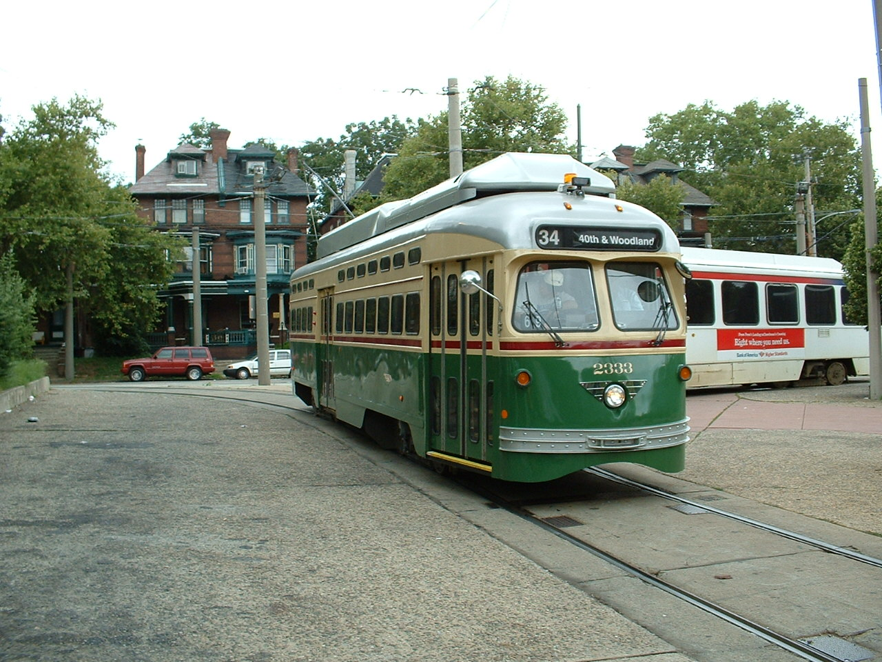 Used Cars In Philadelphia >> SEPTA's #15 Streetcar Line - Philadelphia PA