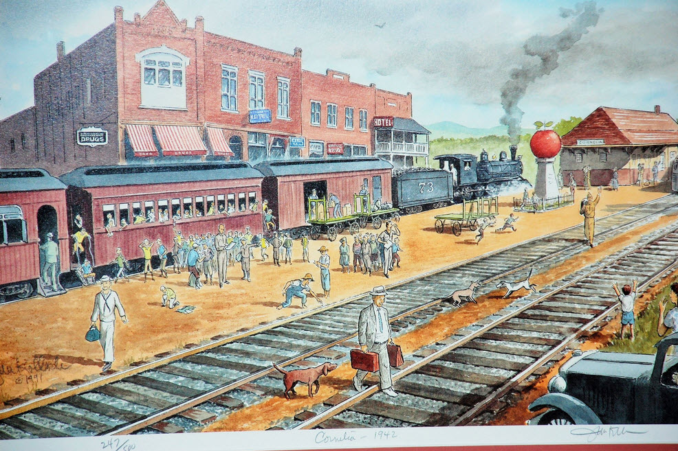 Railroad Stations In Georgia
