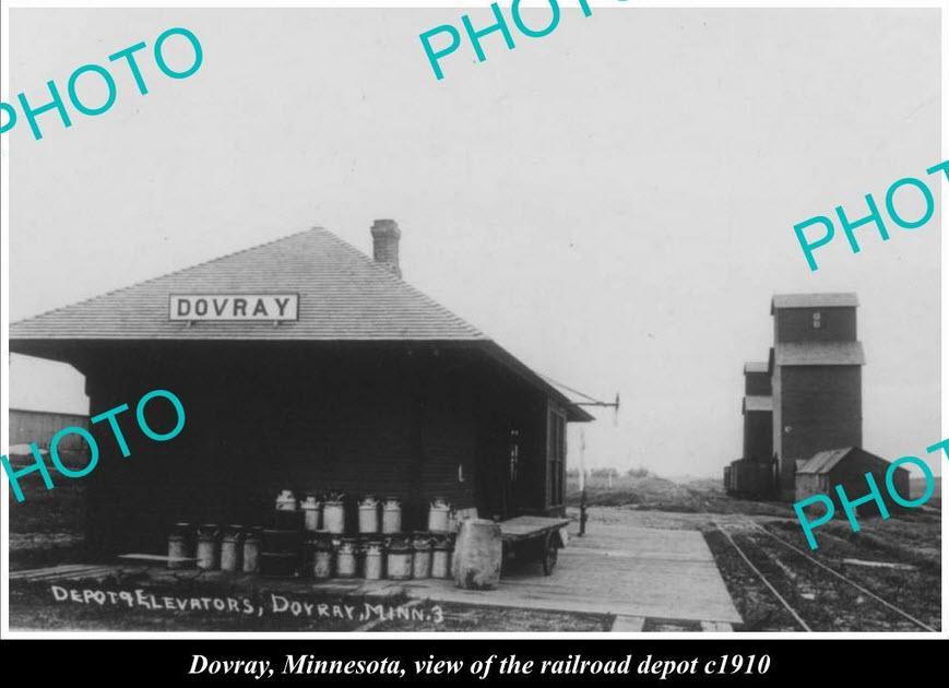 Railroad Stations Towers Tunnels And Bridge Sin Minnesota