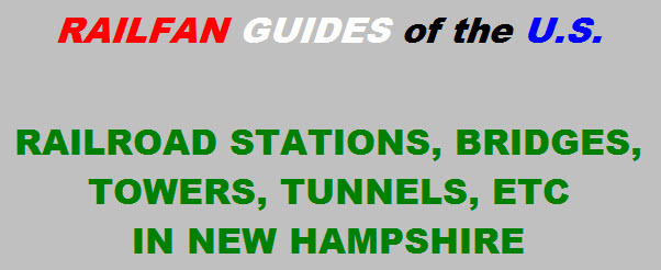 Railroad Stations In New Hampshire Usa