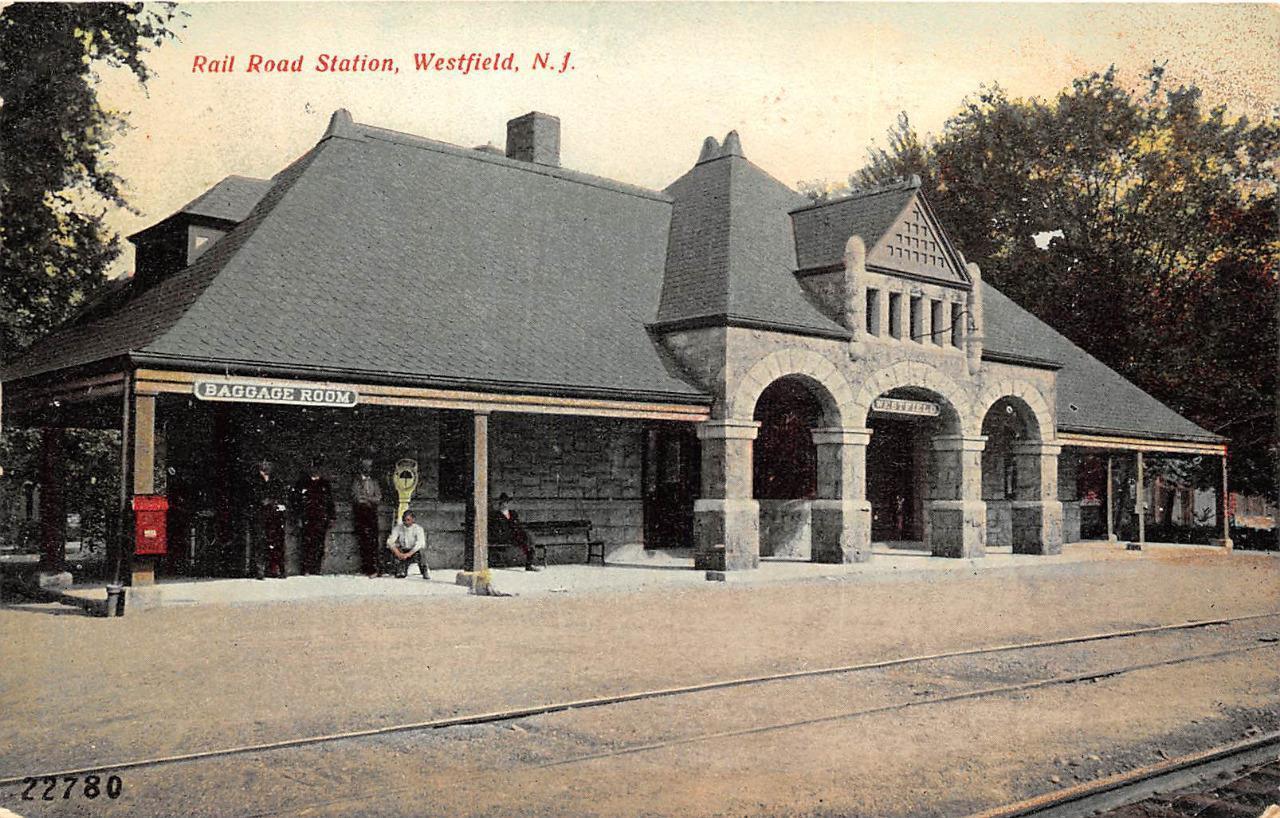 Railroad Stations, Bridges, Tunnels, etc in New Jersey