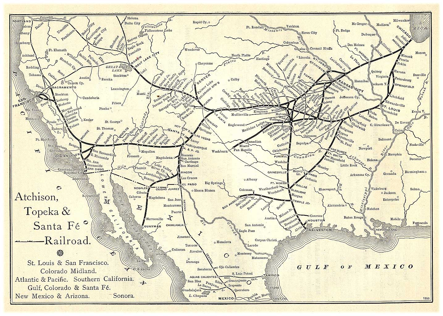 Of The American Civil War Railroads Rail NARPs Vision - Southern railway us map