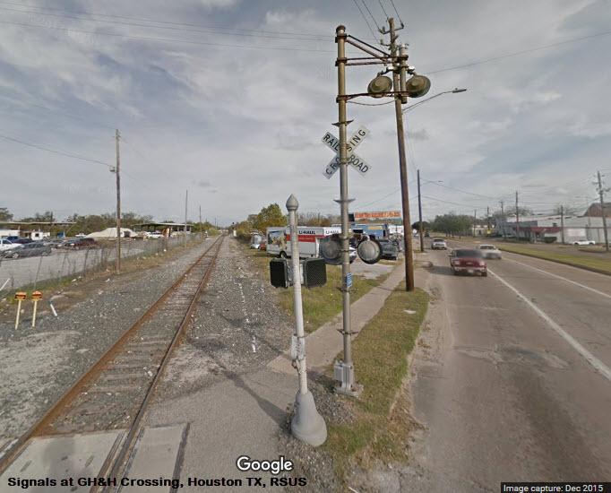 Houston TX -- GH&H Crossing Railfan Guide