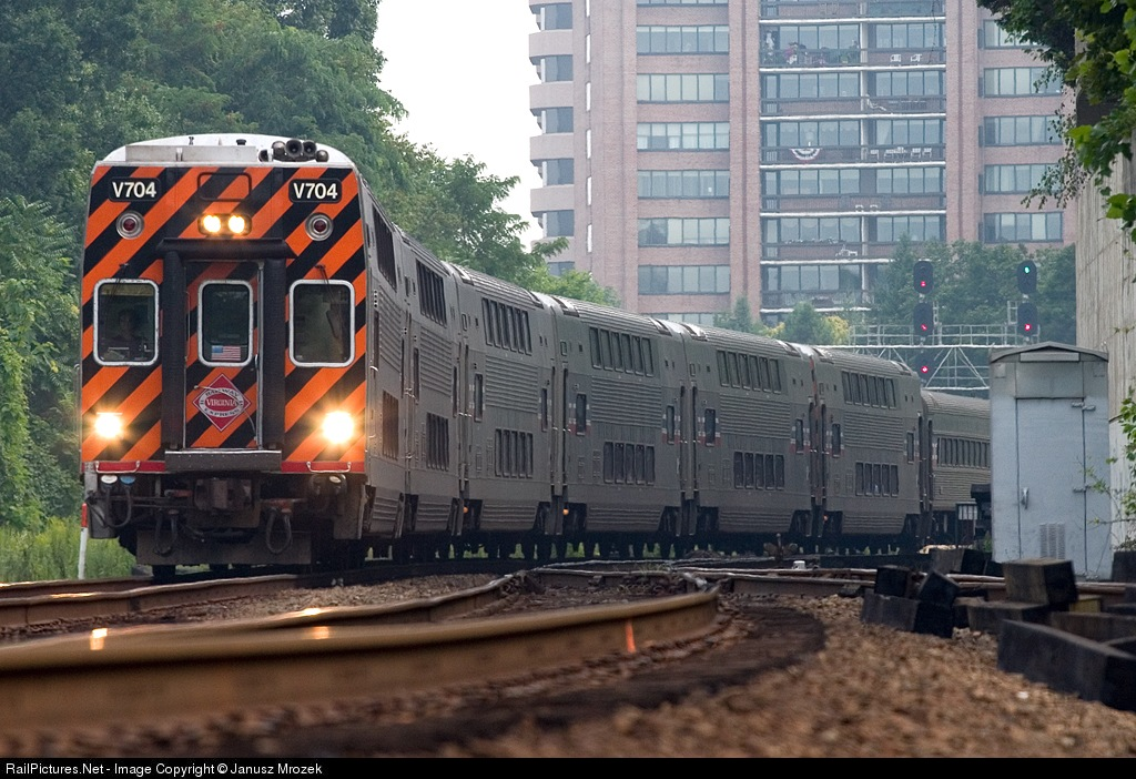 virginia railway express railfan guide